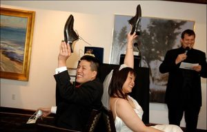 SOME FUN QUESTIONS FOR THE NEWLYWED GAME